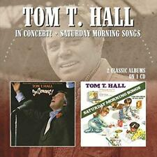 Tom T. Hall - In Concert / Saturday Morning Songs (NEW CD)
