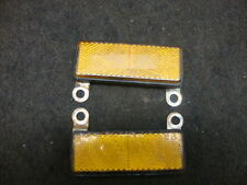 92 SUZUKI GSF400 GSF 400 BANDIT REFLECTORS, FRONT #7373