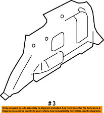 FORD OEM INTERIOR-Lower Quarter Trim Left 8L8Z7831013AA