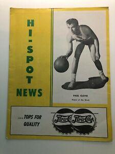 Kansas City Hi-Spots vs. Louisville Aluminites 1950-51 NPBL Program--VERY RARE