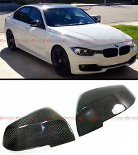 Direct Fit Replacement Carbon Fiber Mirror Cover Cap For BMW E84 F20 F22 F30 F32