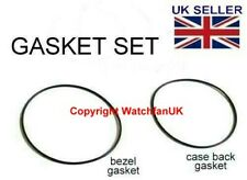 Bezel + Caseback Gasket Set For Seiko 7S26-0350 SKX781 SKX779