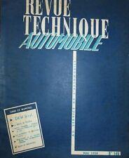 Revue technique DKW 3 Cylindres SONDERKLASSE AUTO UNION  RTA 145 MEISTERKLASSE