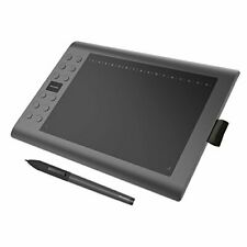 "10""x 6"" M106K Professional Drawing Graphic Tablet - 12 Programming Buttons & Pen"