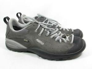 Asics Shiver Gore Tex Hiking Shoe Men size 12 Gray Suede