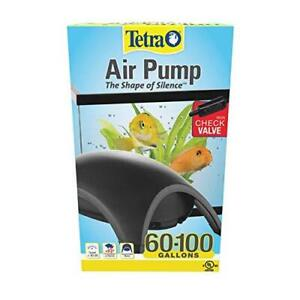 Tetra 77850 Whisper Air Pump, for Aquariums, Quiet, Powerful Airflow, 60 to 100