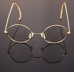 48mm Round Vintage Antique Wire Rim Eyeglass Reading Glasses Reader +0.25 ~ +5.0