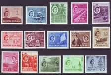 North Borneo 1954 SC 261-275 MH Set