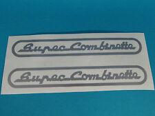 ! Zündapp Pegatina Sticker Super combinette plata popa tipo 433