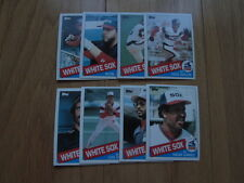 1985 Topps TRADED Chicago White Sox TEAM SET - Ozzie Guillen ROOKIE