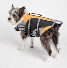 PMP Life Vest for Dogs (medium-adjustable) 100% Polyester-Water Resistant