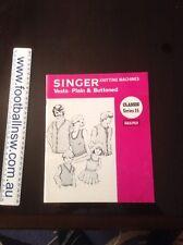 Knitting Machine Punch Card Singer Retro Vintage Knits Magazines Classic Ser 15