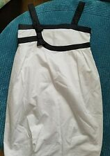 11-12 years girl party white black summer dress from ZARA