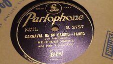 MERCEDES SIMONE & HER TIPICA TRIO CARNAVAL DE MI BARRIO & VILLA AMIGA PARL R2727