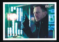 SKYFALL 2013 JAMES BOND AUTOGRAPHS AND RELICS GOLD #39 012/100