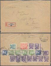 Czechoslovakia 1923 - Registered Cover Luzec D90