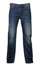 Diesel Straight Cut Jeans LARKEE 0857H dunkelblau verwaschen  34/30 NEU