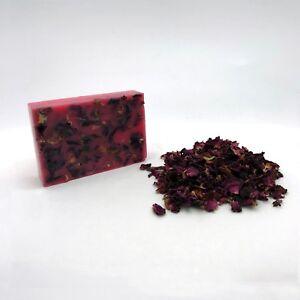 ROSE Natural Soap 100g Handmade Salvatore Tripi Genuine Skin Bar Flowers Body UK
