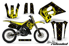 Suzuki RM 125 Graphic Kit AMR Racing # Plates Decal RM125 Sticker Part 93-95 RLB