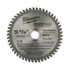 Milwaukee 48-40-4075 5-3/8-Inch 50T Non-Ferrous Metal Blade