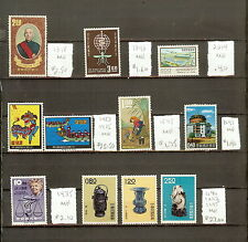 Taiwan Between Scott #1204/2014! All MH [2012 $99.30]! #AK617A