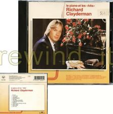 "RICHARD CLAYDERMAN ""LE PIANO ET LES HITS"" RARE CD 1990 ITALY"