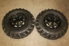 2010 Can Am Outlander 800R XT 800 4x4 Aluminum Front Wheels Rims with 25x10x12