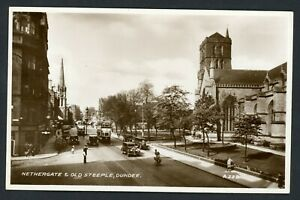 RP NETHERGATE , TRAM , DUNDEE REAL PHOTO  C1925