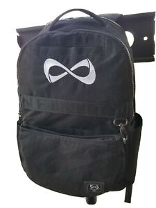 Nfinity Black Classic Cheer Backpack Sparkly Large Clean No Stains or Marks