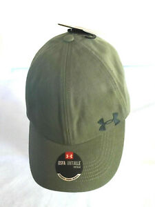 NEW Under Armour Womens UA Storm Adjustable Cap-Olive OSFA