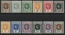 Leeward Islands QEII 1954 definitives to 60 cents mint o.g.