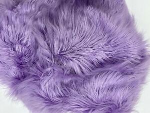 Pottery Barn Teen Large Faux Himalayan Purple Fur Beanbag Slipcover NEW