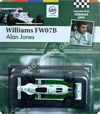 Williams FW07 Alan Jones #27 échelle 1:43 F1 Racing modèle de voiture formule un