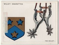 Mullet Spur Rowel Used On Coat Of Arms Or Family Crest 1920s Ad Card