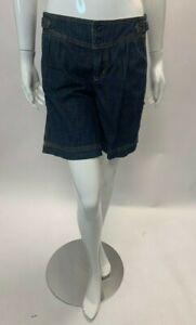 Mama's and Papa's Denim Maternity Shorts Size 10 BNWT UVK002