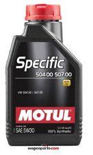 1 litro Motul 5w30 Específico 504 00 507 00 aceite motores