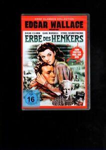 Edgar Wallace Krimi Classics  Dane Clark   ERBE DES HENKERS   (DVD)