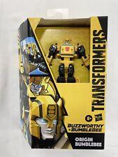 Hasbro Transformers Generations Buzzworthy Bumblebee War for Cybertron Deluxe...