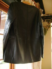 Ladies Jaeger Butter Soft Leather Jacket Size 10