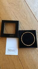 22ct Gold Bnib Monet Gold bracelet