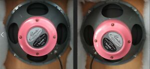 """Rare Pair Tannoy 12"""" Red with original crossovers LSU/HF/12/L No cabinet"""