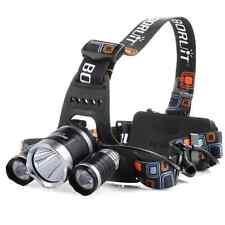 Litom USB Wiederaufladbare Superhelle LED Stirnlampe, LED Kopflampe, LED Kopfleu