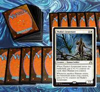 mtg WHITE HUMANS DECK Magic the Gathering rare 60 cards thalia's lieutenant SOI