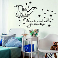 Boys Stars Hearts with Name Wall Sticker Wall Chick Decal Art Sticker Quote