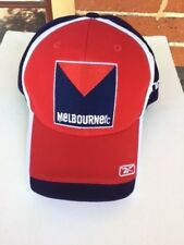 MELBOURNE FOOTBALL CLUB  RbK CAP 2013 WITH CLUB LOGO IN RED, WHITE AND BLUE
