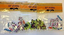 45 (3 packs/15) felt day of the dead stickers crafts scrapbooking Frankenstein