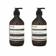 2X Aesop  Reverence Aromatique Hand Wash 16.9oz, 500ml