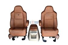 2004 2005 2006 2007 Ford F250 King Ranch front row seat and console set