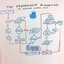 Big Bang Theory T Shirt Sheldon Friendship Algorithm Size M Ships Free