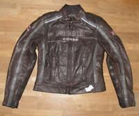 """"""" PROBIKER """" Damen- Motorrad - Kombi- Lederjacke / Biker- Jacke black ca. Gr. 34"""